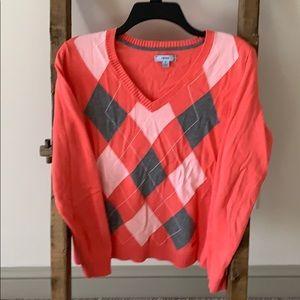 Izod V-neck sweater